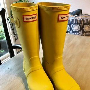 New Girls Hunter Classic Rain Boot, size 2